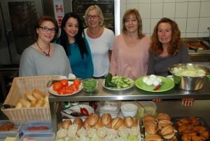 v.l.: Anne Schlingmeyer (Leitung), Fadime Akpinar, Christiane Kammermeier, Sabine Wallenhorst (Leitung), Annegret Pax