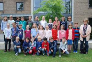 Klasse 5b, Frau Heinemeyer