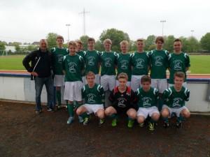 Fußballmannschaft Angelaschule