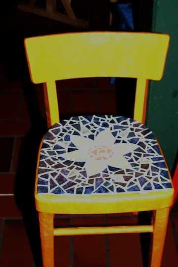 Stühle Bemalen kunst angelaschule osnabrück